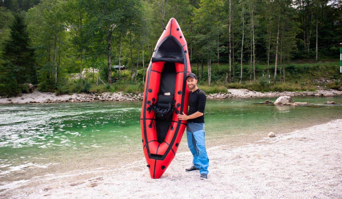 Wir testen das MRS Nomad S1 im Wildwasser