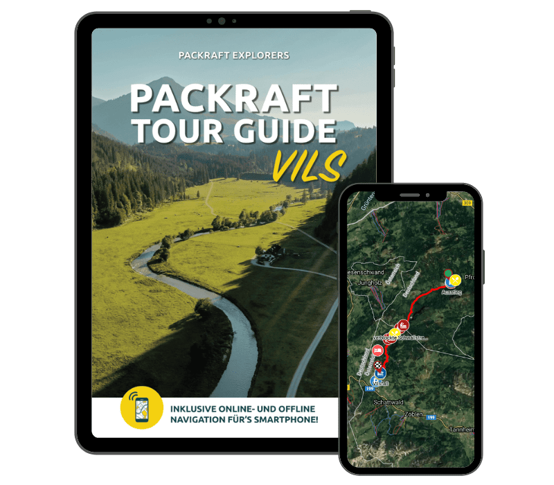 Packraft Tour Guide – Vils