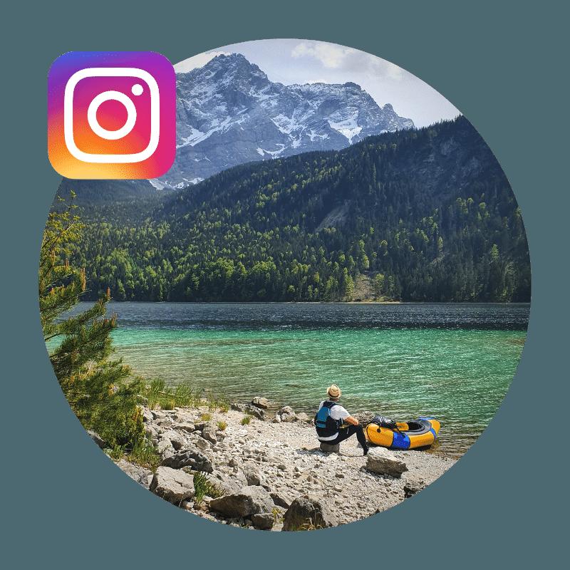 Packraft Explorers bei Instagram