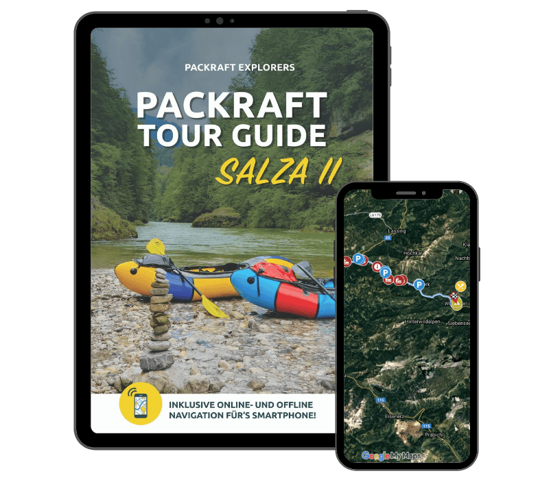 Packraft Tour Guide Salza