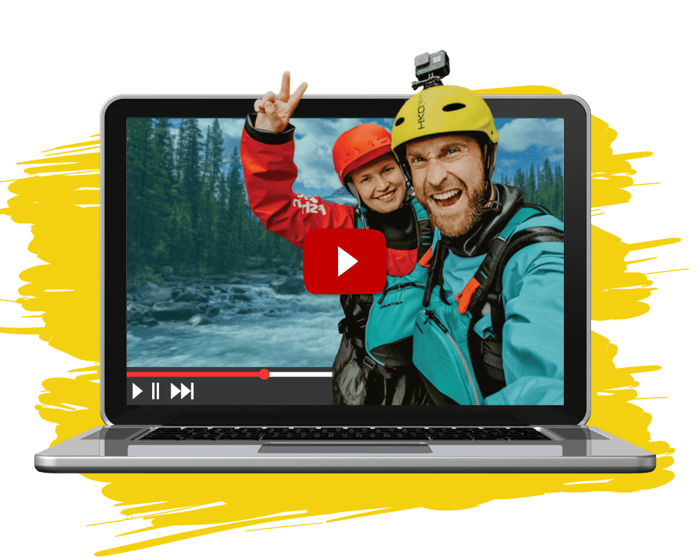 Packraft Explorers bei YouTube