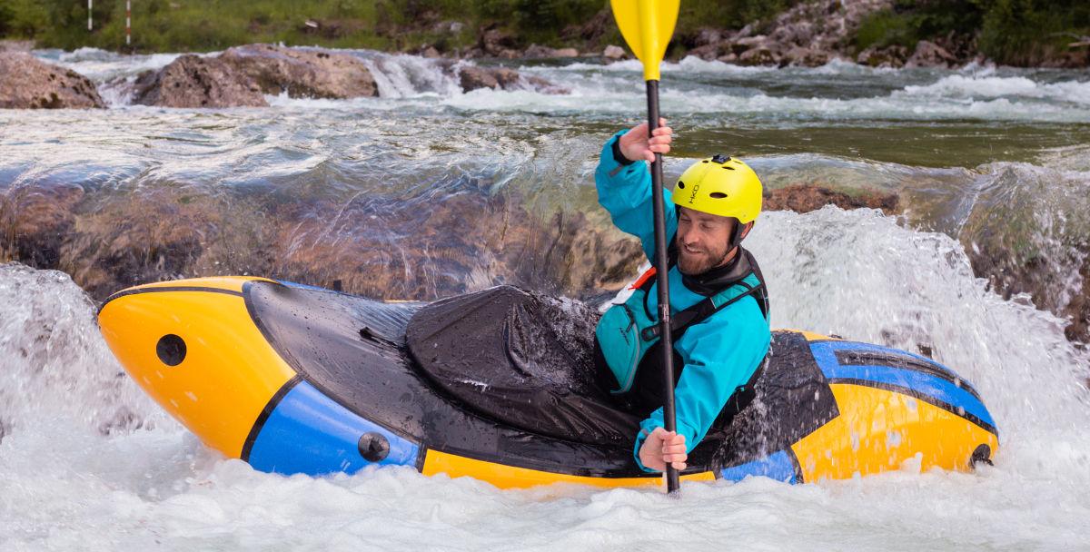 Wildwasser-Packrafting im Alpacka Wolverine