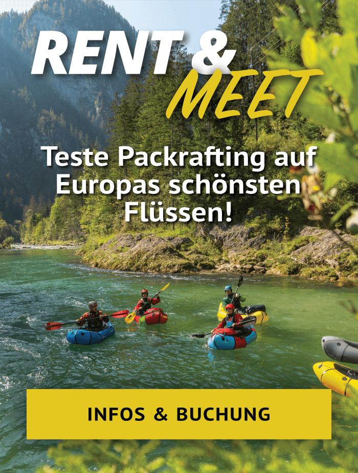 Packraft Rent & Meet | Infos & Buchung
