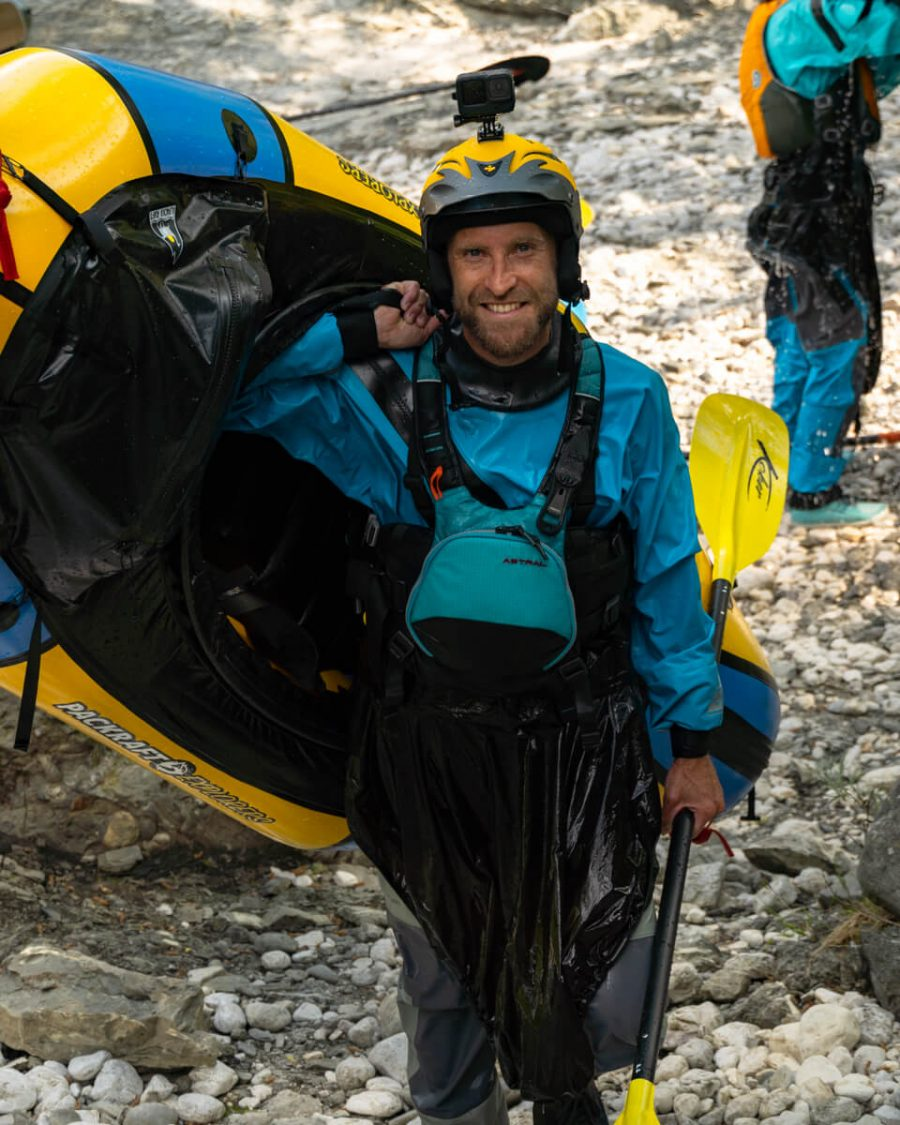 Packraft Explorers Tom