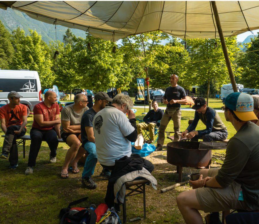 Packrafting Meetup in Slowenien 2021